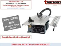 DRAPER 82571 250MM 1800W 230V SLIDING TABLE SAW