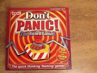 Don't Panic Board Game