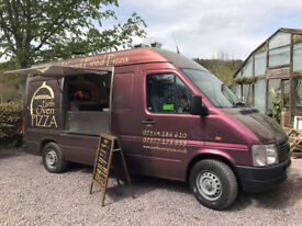 Pizza Van woodfired Oven for Catering