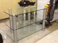 TV - Glass Stand Immaculate