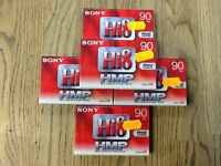 5x Sony Hi8 8mm 90 mins camcorder tapes brand new sealed