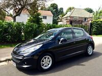 £30 A YEAR ROAD TAX! 2009 PEUGEOT 207 S 1.4 HDI 68 DIESEL 5 Door Hatchback 88K Miles HPI Clear