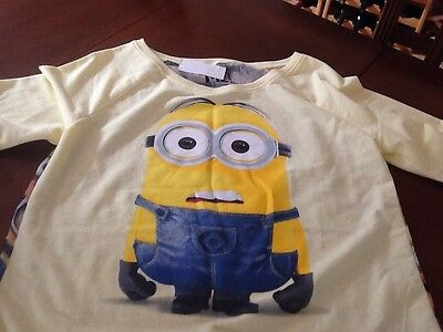 Minions Girls Medium Shirt From Despicable Me - Girl Minion From Despicable Me