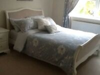 NEXT Isabella White Double Bed Frame