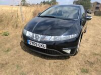 2009 Honda Civic ES I-CDTI 2.2 Diesel in Black