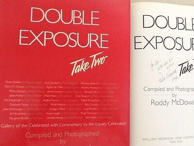 Roddy McDowall SIGNED Celebrities Photo Book Vivien Leigh Gardner Dietrich West