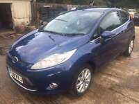 SELLING FOR A FRIEND, 2009 58 FORD FIESTA 1.4 ZETEC TDCI, 3 DOOR, GOOD OVERALL, S/H, MOT FEB 2017