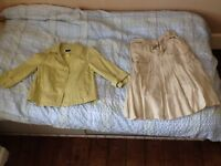Principles Petite women's summer jacket and skirt, size 8, good condition