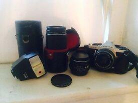 analog camera pentax ME super