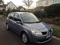 1 Owner From New 2007 57 Plate Renault Scenic 1.6 6 SPEED Manual 100k 5 Door NEW 12 Month MOT FSH