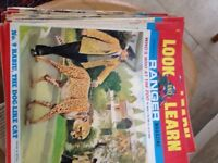Vintage 1968-69 Look and learn magazines