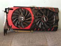 MSI GTX 980 GAMING 4GB GDDR5 256bit High end GPU nvidia graphic card (perfect condition)