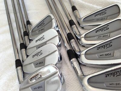 TITLEIST 735 CM IRONS (LIKE MB/CB), 3-PW, DYNAMIC GOLD S300 SHAFTS