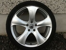 18INCH 5/110 VAUXHALL SAAB ALLOY WHEELS WITH TYRES FIT MOST MODELS NO TEXTS PLEASE