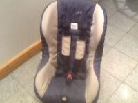 Group 1 Brirax Eclipse car seat for 9kg upto 18kg(9mths to 4yrs)reclines, is washed and cleaned-£25