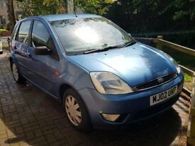 Ford Fiesta Ghia 02 - MOT Failed - Bodywork and interior in good condition