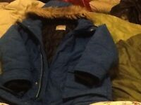 Blue next coat age 8