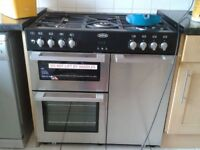 Belling Range Cooker Dual fuel