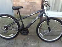 £45 lovely lady/s x rated 05 bike in great condition26 wheel15 frame 18 gears can deliver for £5
