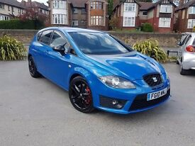 2010 SEAT LEON 2.0 TSI CUPRA BLUE MANUAL STAGE 1 REMAP MODIFIED F.S.H 2 OWNERS 12 MONTHS WARRANTY
