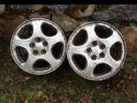 "Subaru Forrester Alloys X 2 15"""
