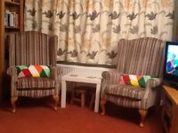 2 Winchester armchairs