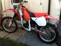 1990 Honda cr125 super evo spares or repair swap part ex