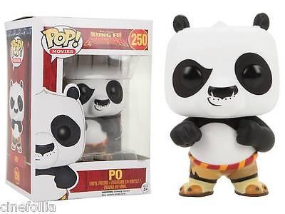 Kung Fu Panda Po Pop! Funko movies Vinyl figure n° 250