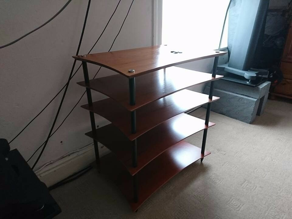 Quadraspire Q4 EVO, 5 shelves with base feet