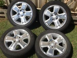 "Four 15"" X 6"" mag wheels. 5 X 100 stud pattern. The tyres are 195 Prestons Liverpool Area Preview"
