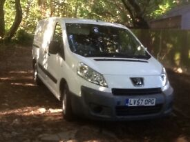 PEUGEOT EXPERT RARE LWBASE/ MAXI 2007 ONE FORMER KEEPER TWIN S/L DOORS ELECTRIC WINDOWS MOT APR 18