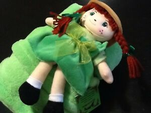Anne of Green Gables Doll and blanket set