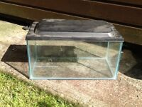 Small fish tank for sale with lid