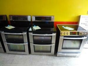 FRIDGE & STOVE STAINLESS STEEL ALL MODELS & STYLES FREE DELIVERY SALE UNTIL SUNDAY