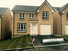 New build four bed detached for rent