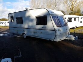 Lunar Lexon 4 berth caravan 2001 Awning, VGC LIGHT TO TOW BARGAIN !!