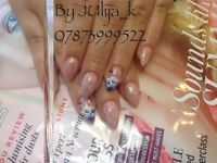 Nails and eyelashes extension