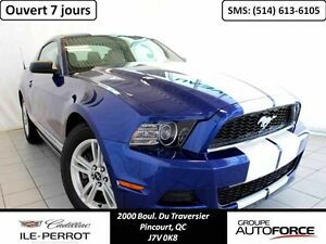 2013 FORD MUSTANG COUPE, V6, AUTO, MAGS,