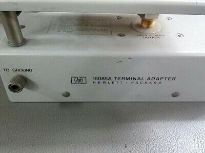 Hp 16085a Lcr Meter Fixture