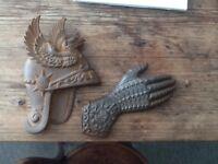 Cast iron plaques