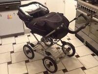 Silver cross large stroller pram