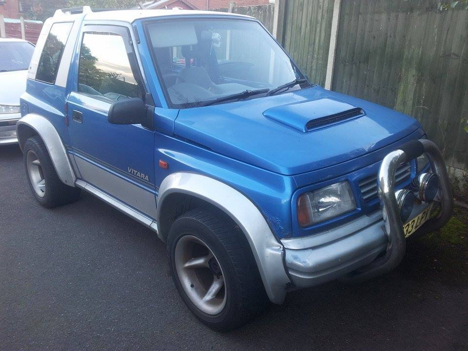 suzuki vitara 1 6 8v soft top hard top cabrio convertible in nuneaton warwickshire gumtree. Black Bedroom Furniture Sets. Home Design Ideas