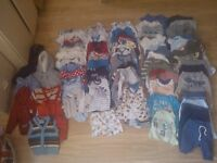 baby boy clothes 0-3 month, 77 items