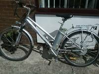 Old electric bike for spares or repair
