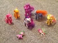 My little ponys the main 6 great condition
