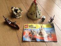 LEGO LONE RANGER 79107 Comanche camp 100% complete
