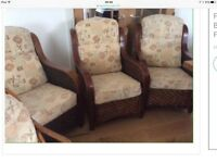 3 Conservatory Chairs. Smoke free home. Can help with delivery in Perth