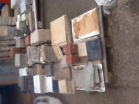 Various quality wall and floor tiles