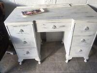 Shabby chic dresser /desk