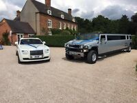 Rolls Royce Phantom £445 / Bentley Flying Spur £250 / Wedding Car Hire Solihull / Self Drive Hire